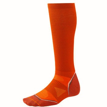 Smartwool PhD Run Graduated Comp Socks Ultra Light Orange SW056-827