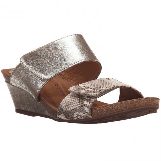 Sofft Vangie Satin Gold / Sand Snake 1290575 (Women's)