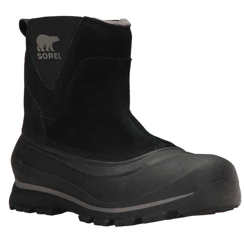 33bd718508c Sorel Buxton Pull On Black/ Quarry 1760171-010 (Men's)