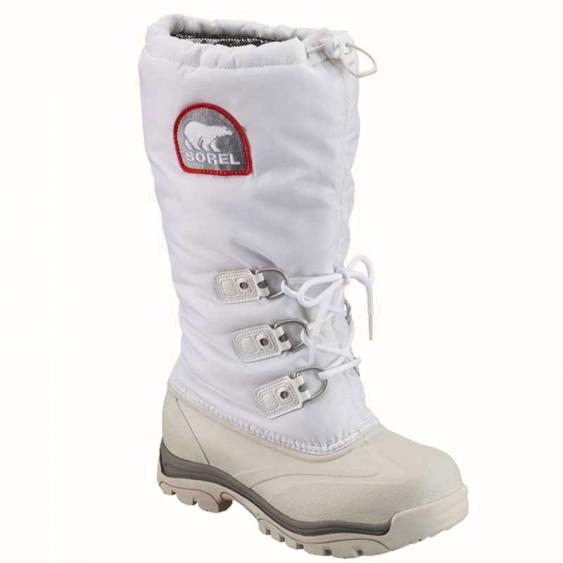 Sorel Snowlion XT White/ Red Quartz NL2134-100 (Women's)