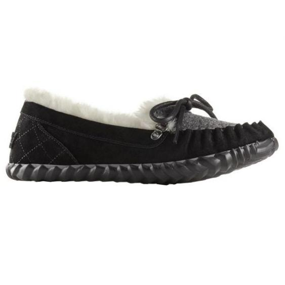 Sorel Out 'N About Slipper Black 1708881-010 (Women's)