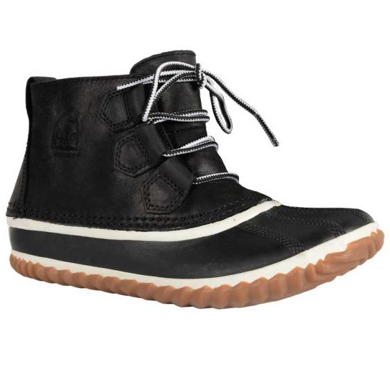 Sorel Out 'N About Leather Black 1573351-011 (Women's)
