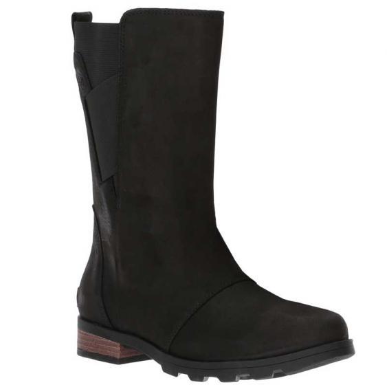 Sorel Emelie Mid Boot Black 1749261-010 (Women's)