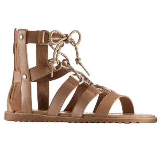 Sorel Ella Lace Up Sandal Sahara 1775741 (Women's)