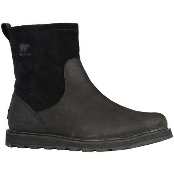 Sorel Madson Zip Waterproof Black 1808011-010 (Men's)