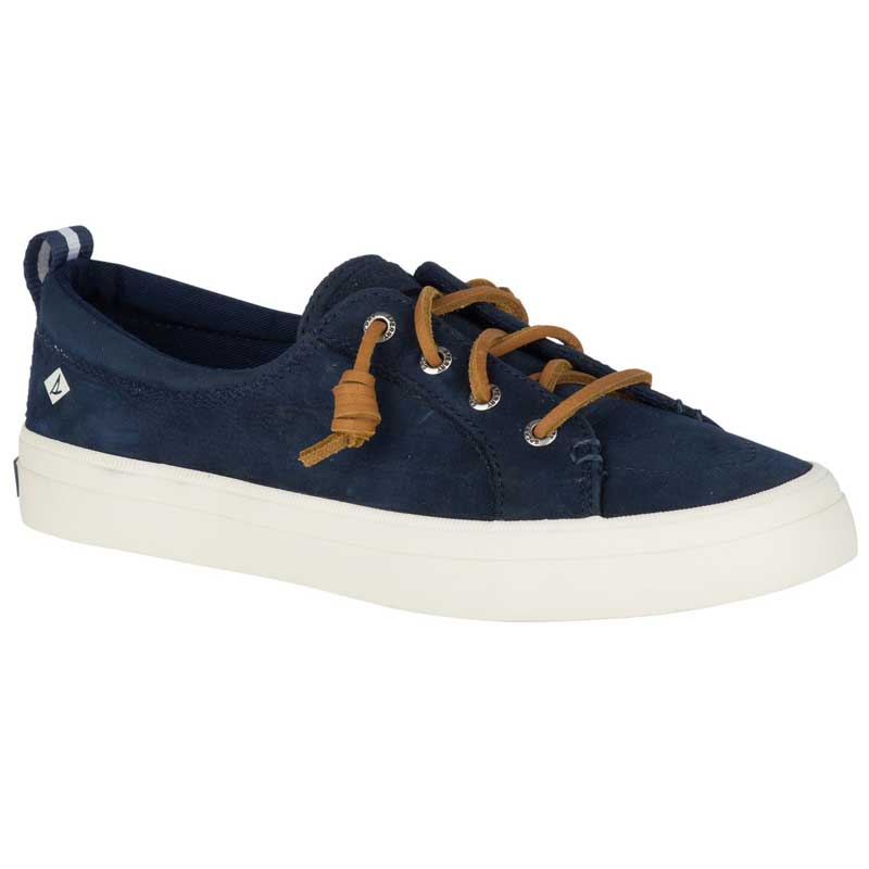 1af24fcb96521 Sperry Crest Vibe Washable Leather Navy STS82400 (Women's)