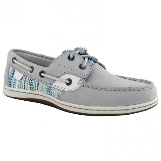 Sperry Koifish Raffia Grey / Blue STS95667 (Women's)