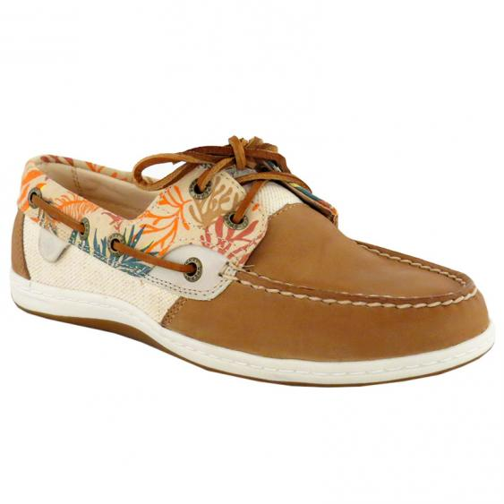 Sperry Koifish Seaweed Print / Sand STS95796 (Women's)