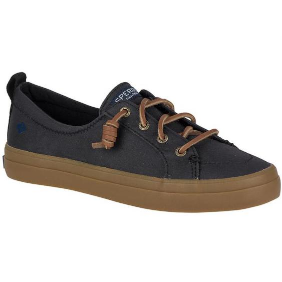 Sperry Crest Vibe Waxed Black STS80317 (Women's)