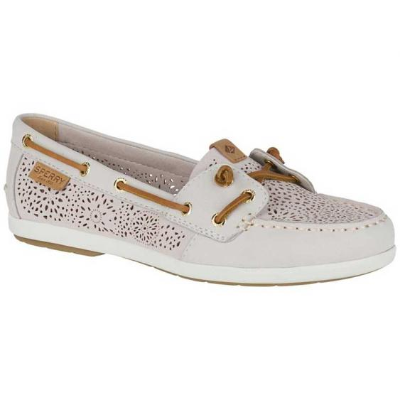 Sperry Coil Ivy Perforated Ivory STS81619 (Women's)