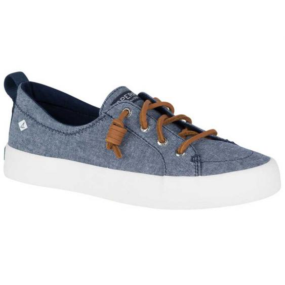 Sperry Crest Vibe Crepe Chambray Navy STS81469 (Women's)