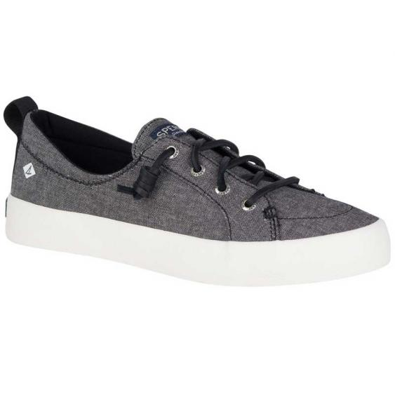 Sperry Crest Vibe Crepe Chambray Black STS81471 (Women's)