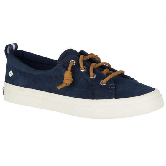 Sperry Crest Vibe Washable Leather Navy STS82400 (Women's)