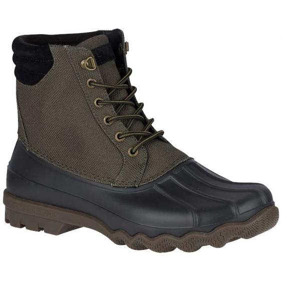 Sperry Avenue Heavy Nylon Duck Boot Olive STS18187 (Men's)