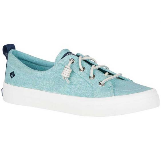 Sperry Crest Vibe Washed Linen Mint STS83585 (Women's)