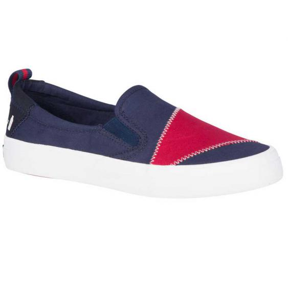 Sperry Crest Twin Gore BIONIC Navy/ Red STS83718 (Women's)