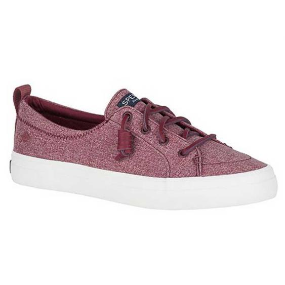 Sperry Crest Vibe Sparkle Chambray Wine STS84545 (Women's)