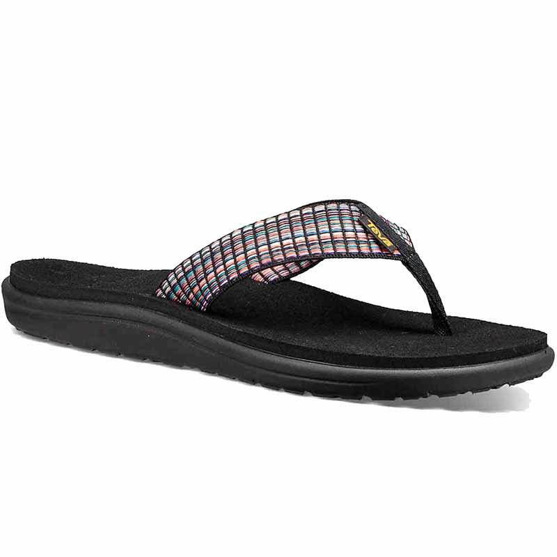 Teva VOYA - T-bar sandals - barstreet multiblack O2uLFGAnF