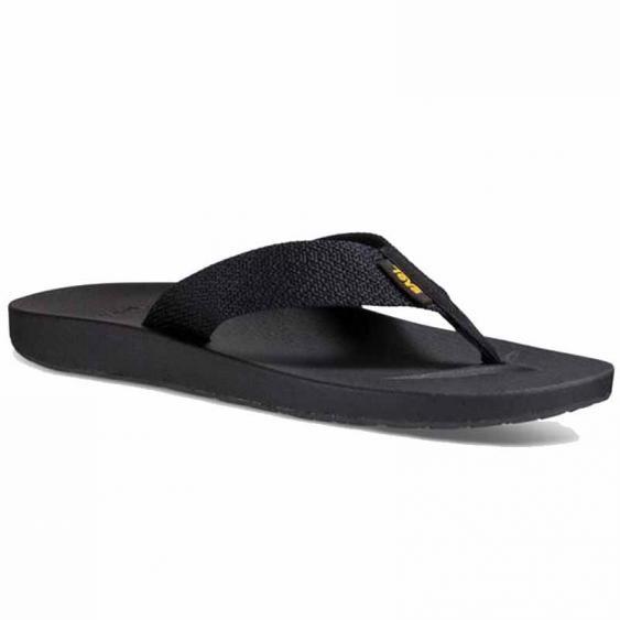 Teva Azure Flip Feliz Black 1015125-FZBL (Men's)