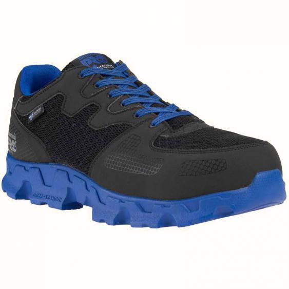 Timberland Pro Powertrain Alloy Toe Black/ Blue 92654 (Men's)
