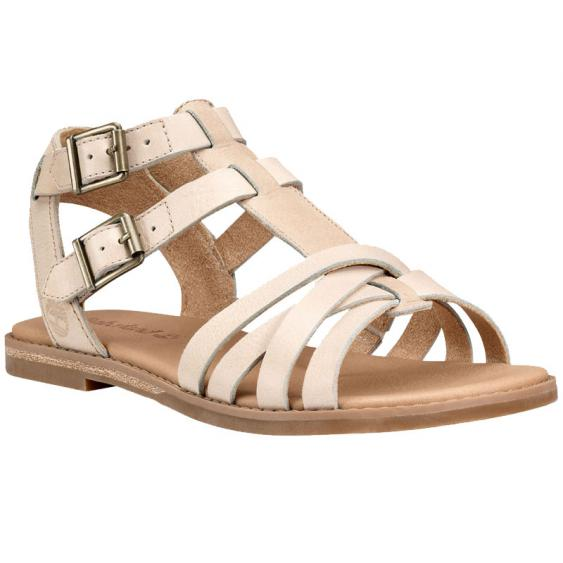 Timberland Caswell Fisherman Sandal Off White Antique (Women's)