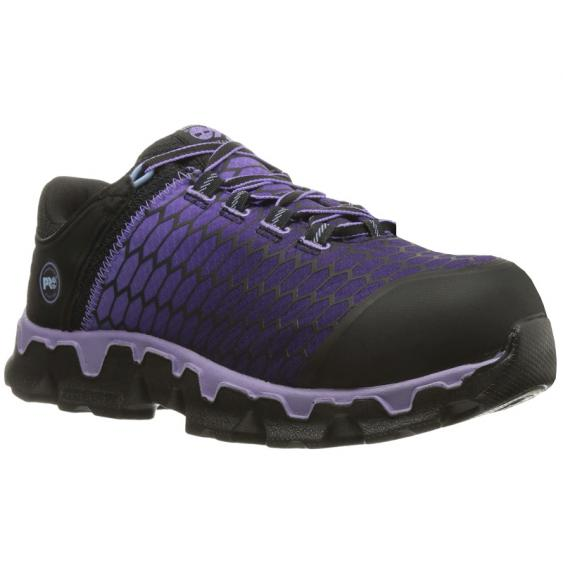 Timberland Pro Powertrain Sport Ally Toe SD+ Black/ Lavender TB0A1H1S001 (Women's)