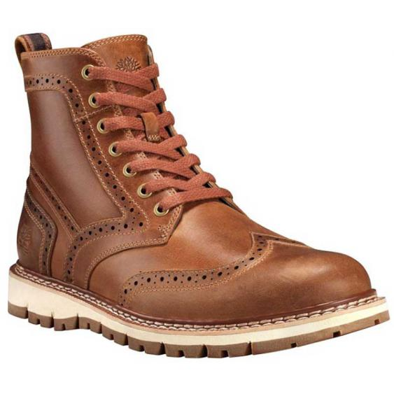 Timberland Britton Hill Wingtip Boot Lt. Brown TB0A1MH3919 (Men's)
