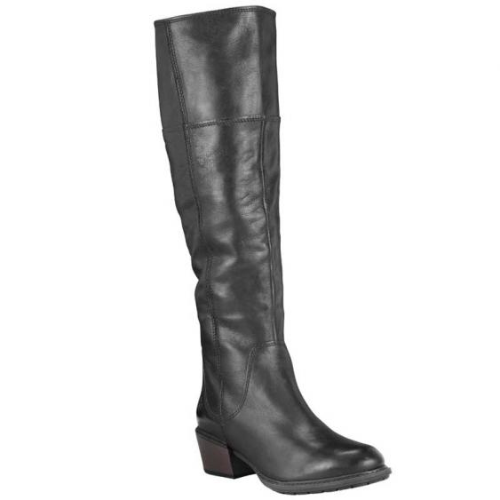 Timberland Sutherlin Bay Tall Slouch Black Full Grain TB0A1T33015 (Women's)