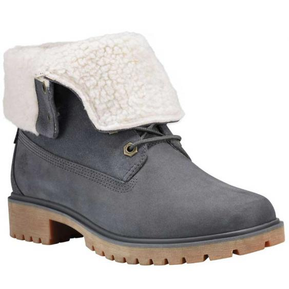 Timberland Jayne Waterproof Teddy Fleece Dark Grey TB0A1SGIC64 (Women's)