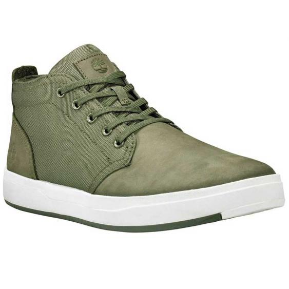 Timberland Davis Square Mixed-Media Dark Green TB0A1Y9EA58 (Men's)
