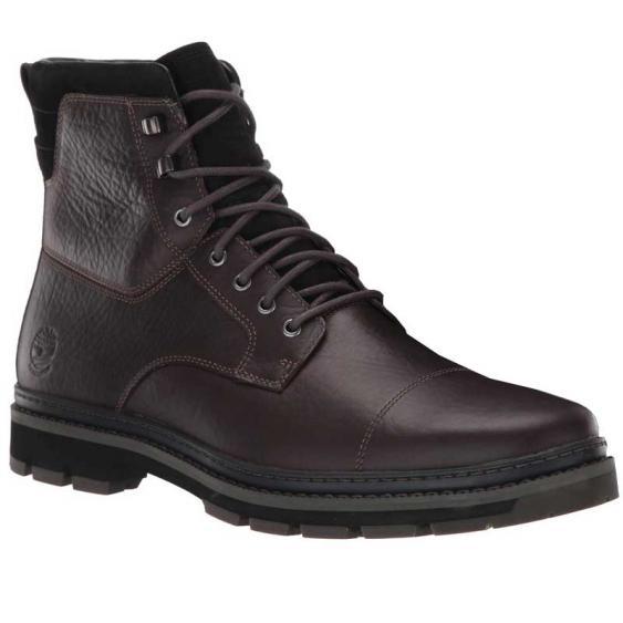 Timberland Port Union Waterproof Insulated Boot Dark Brown TB0A28YQD33 (Men's)