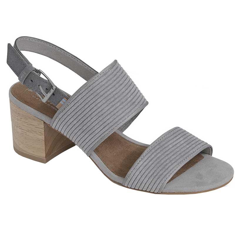 fd49df869 TOMS Shoes Poppy Cement Corduroy 10012491 (Women s)