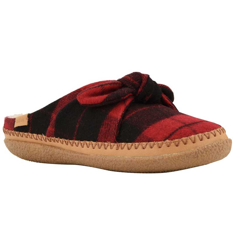 6602cf48def TOMS Shoes Ivy Red Plaid Felt  Bown 10012481 (Women s). Loading zoom