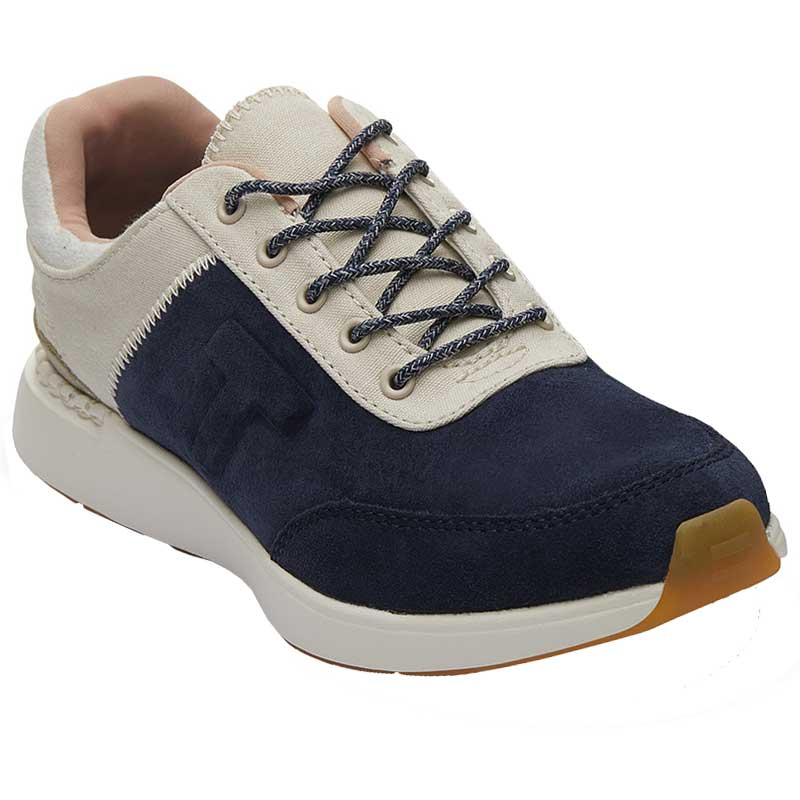 fb3b7e4225f TOMS Shoes Arroyo Navy Suede  Canvas 10013412 (Women s)