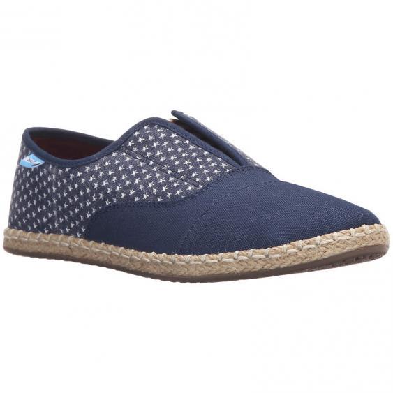 TOMS Shoes Palmera Slip-On Americana Navy 10007862 (Women's)