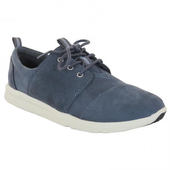 TOMS Shoes Del Rey Castlerock Grey Nubuck 10008886 (Women's)