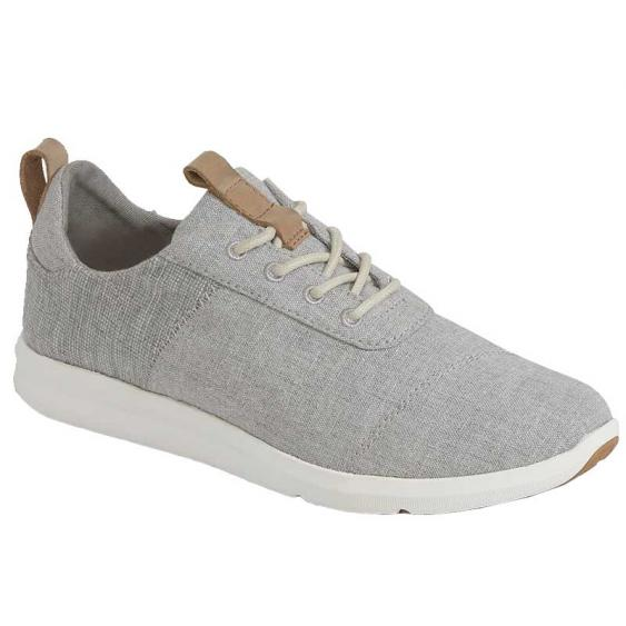 TOMS Shoes Cabrillo Drizzle Grey Chambray 10011751 (Women's)