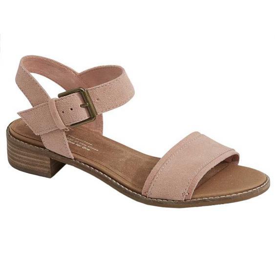 TOMS Shoes Camilia Bloom Suede 10011695 (Women's)