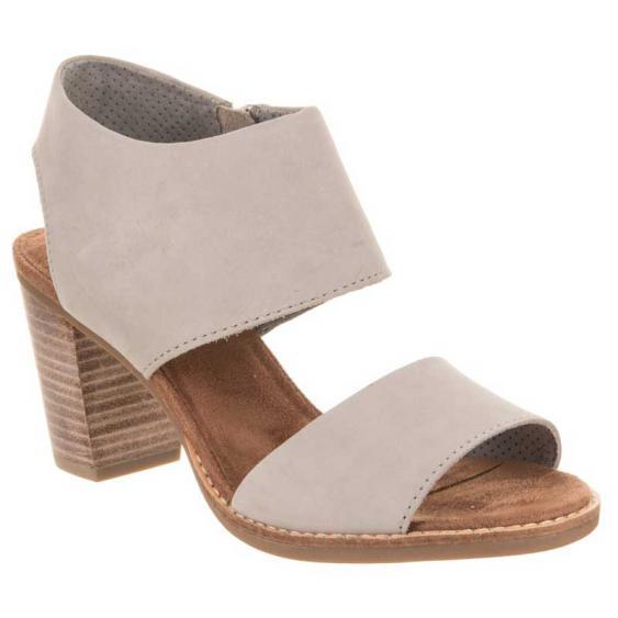 TOMS Shoes Majorca Cutout Sandal Drizzle Grey 10011686 (Women's)