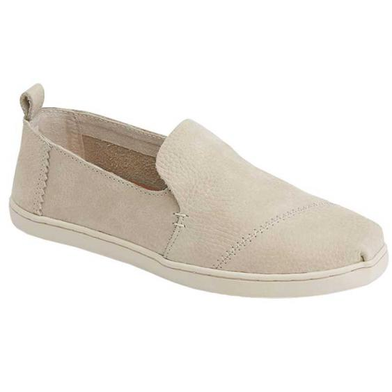 TOMS Shoes Deconstructed Alpargata Birch Nubuck 10011856 (Women's)