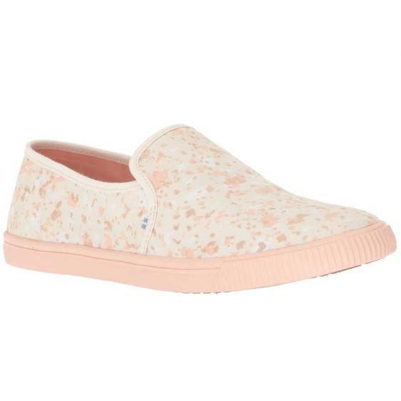 TOMS Shoes Clemente Natural Metallic Granite 10012365 (Women's)