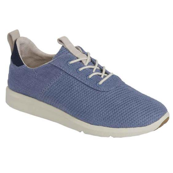 TOMS Shoes Cabrillo Infinity Blue Textured 10012426 (Women's)