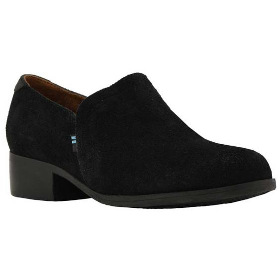 TOMS Shoes Shaye Black Suede 10012283 (Women's)