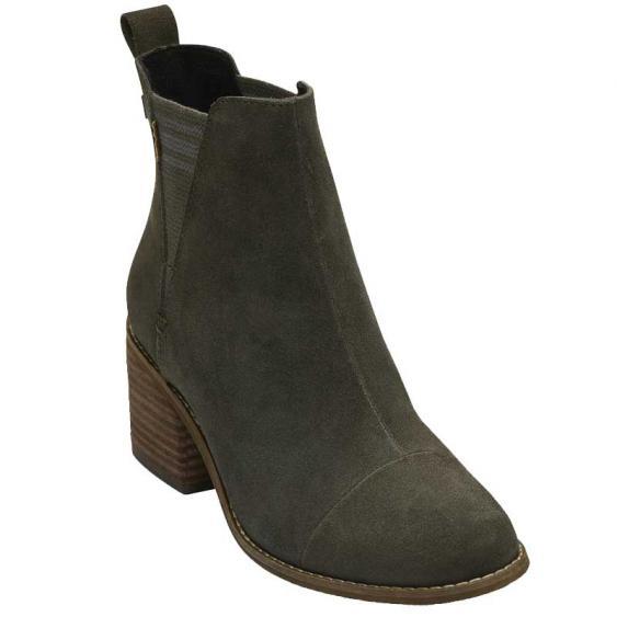 TOMS Shoes Esme Tarmac Olive 10012480 (Women's)