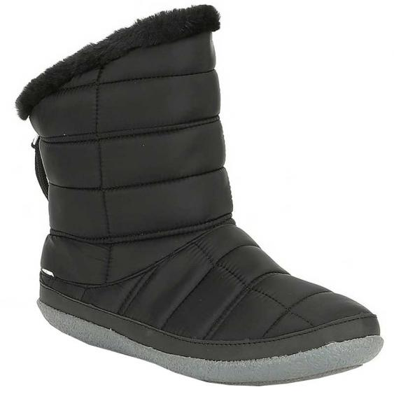 TOMS Shoes Inez Black Quilted 10015470 (Women's)