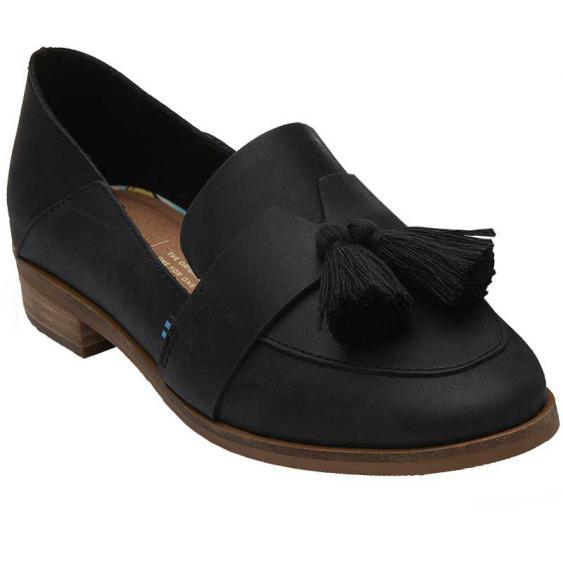 TOMS Shoes Estel Black 10013403 (Women's)