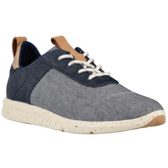 TOMS Shoes Cabrillo Navy Denim 10013401 (Women's)