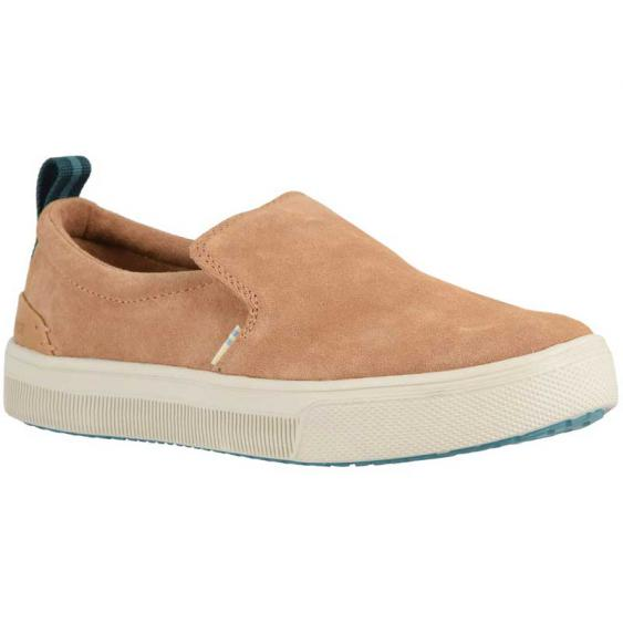 TOMS Shoes TRVL LITE Slip-On Honey Suede 10013371 (Women's)