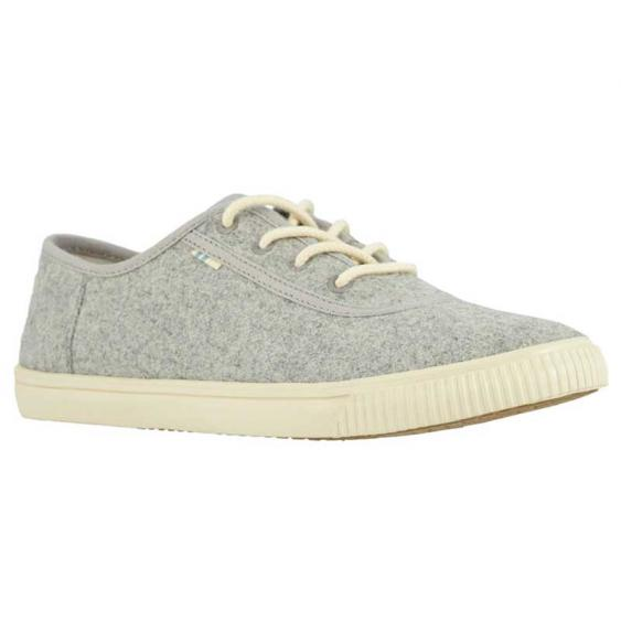 TOMS Shoes Carmel Drizzle Grey Felt 10014128 (Women's)