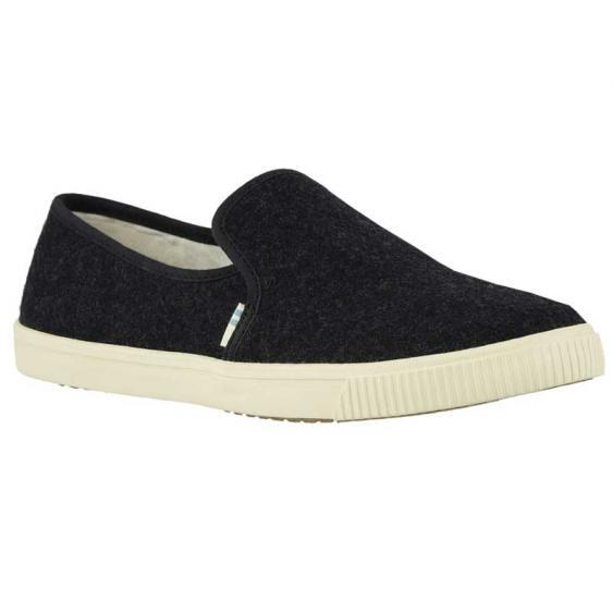 TOMS Shoes Clemente Black Felt 10014132 (Women's)